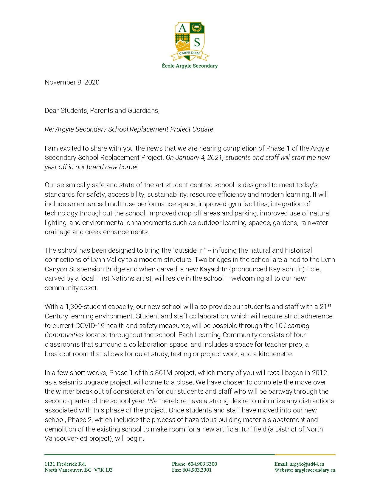 Argyle Replacement Project Update_Letter to Community_11092020_Page_1.jpg