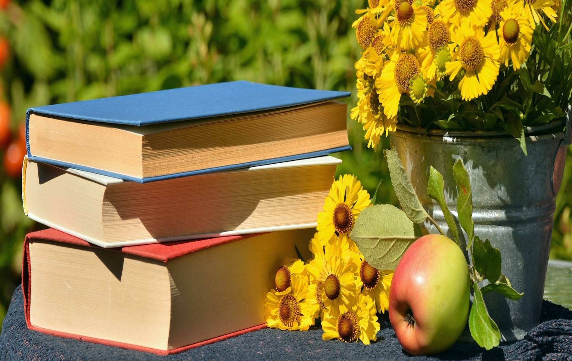 apple and books outside copy.jpg