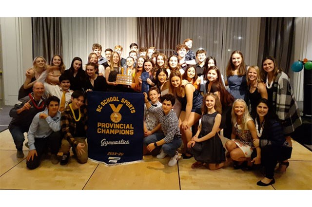 Congratulations to Our Gymnastics Team - Provincial Champions!