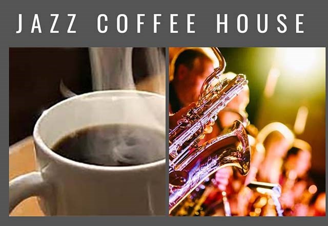 You're Invited to our Jazz Coffee House!