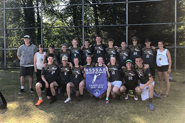 Senior Ultimate Wins North Shore Finals, Taking the Banner for the First Time in 10 Years. Congratulations!