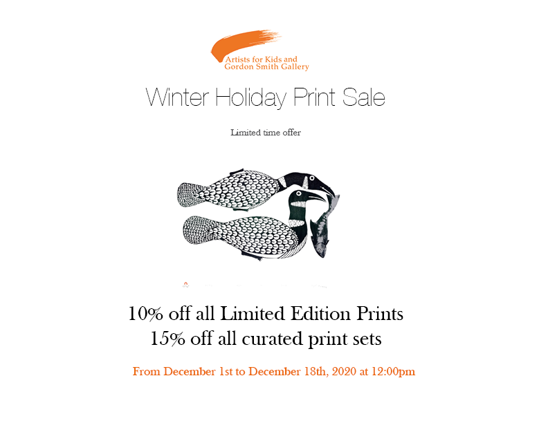 Winter Holiday Print Sale