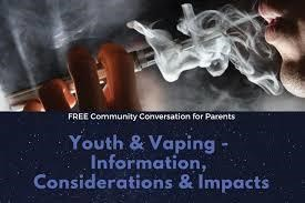 Youth and Vaping Information