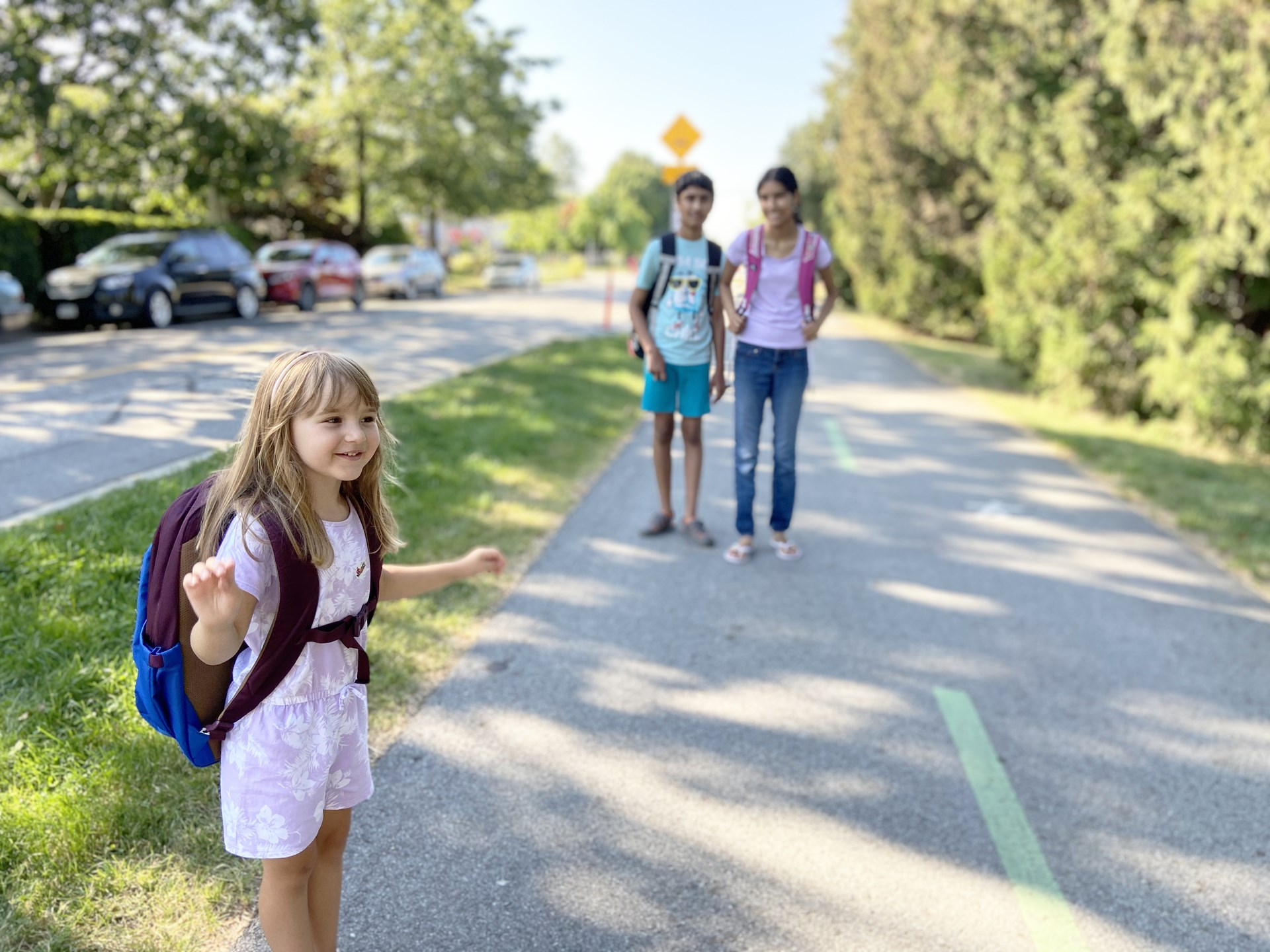 Walk and roll to school this September