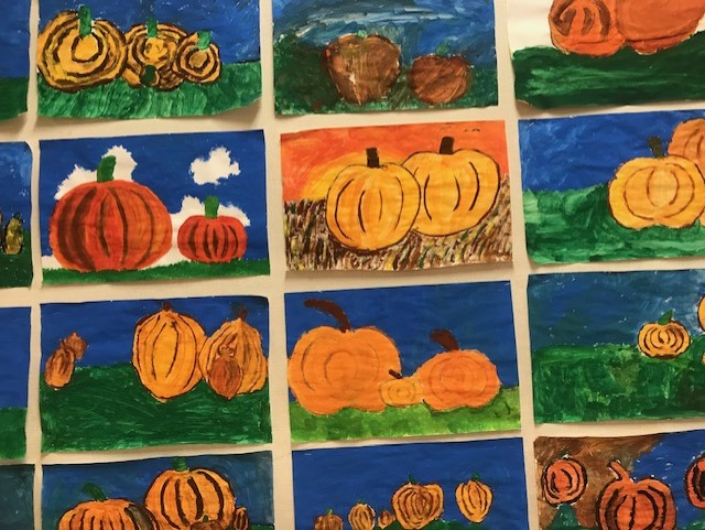 Pumpkin Fun in Division 8!