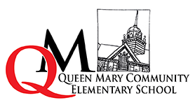 Queen Mary Community Elementary logo