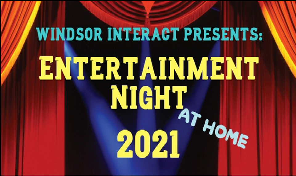 ENTERTAINMENT NIGHT 2021 The at home version.