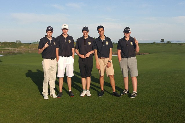 "Golf Team wins the Howe Sound ""AAA"" Championship"