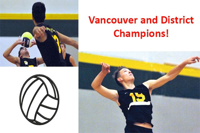 The Senior Boys Volleyball team made history TWICE!