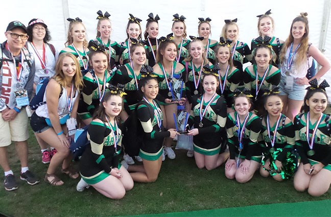 Argyle Cheer Places 2nd in Their Division, 2nd in Worlds and 1st in Canada at World's in Florida!