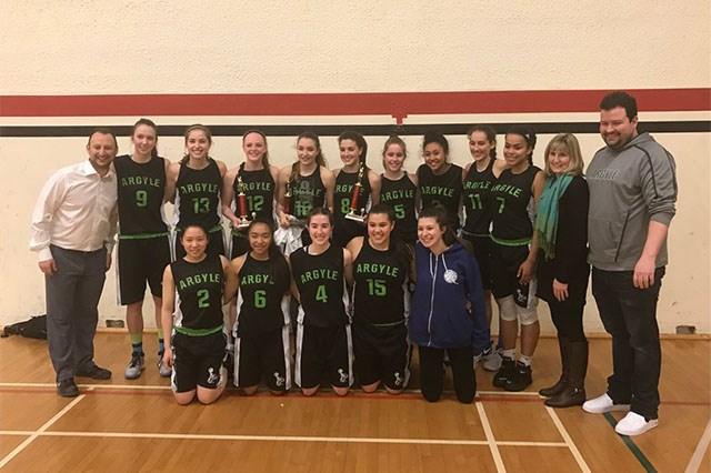 Congratulations to the Sr. Girls Basketball team for winning the Lower Mainland Championship!