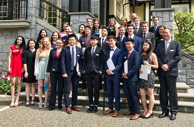 Congratulations to the 28 Argyle Grads Recognized for their Excellence at the North Van School District Superintendent's Luncheon