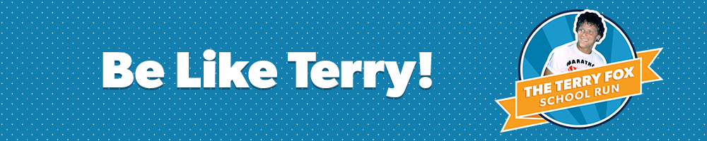 Toonies for Terry - Terry Fox Run Thurs.Sept.29th @ 11:40