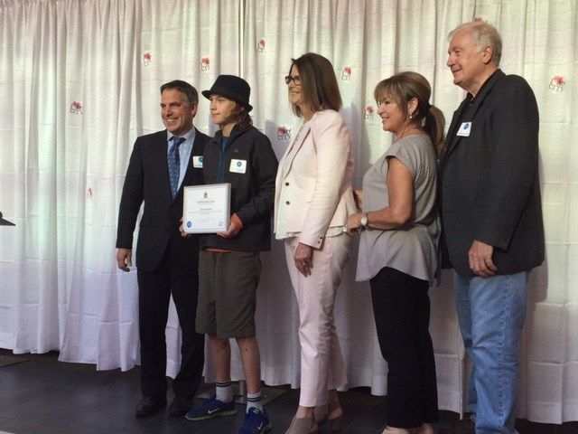 Queen Mary student receives Youth Recognition Award