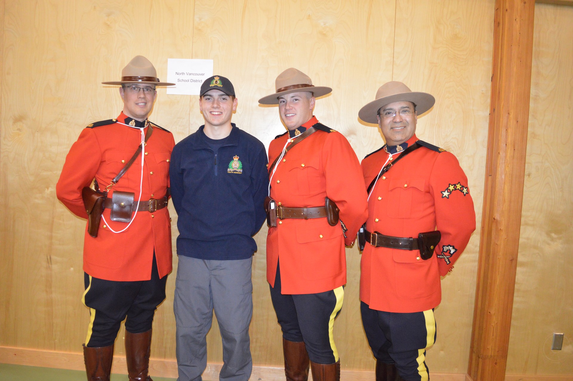Chris Madill RCMP Youth Academy 2016